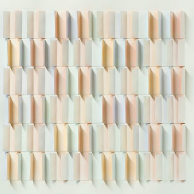 Beach Facade, 2011, 56 x 56 cm, watercolour on cut and folded paper