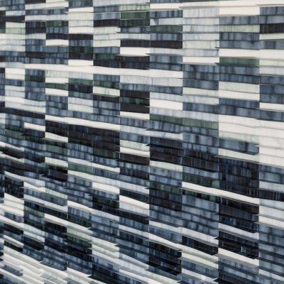 Deep Blue (Detail), 2017, 170 x 120 cm, ink on drafting film