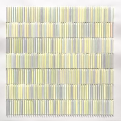 Green Shimmer, 2013, 56 x 56 cm, 56 x 56 cm, watercolour on cut and folded paper
