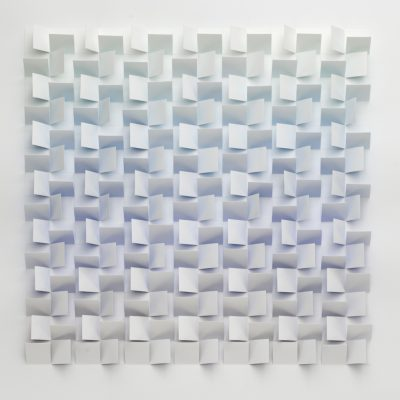 Pool, 2008, 56 x 56 cm, watercolour on cut and folded paper